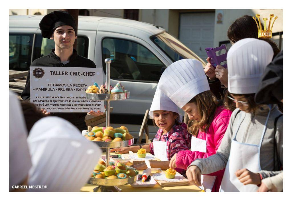 Talleres de cocina fiestas infantiles vilanova bodas - Talleres de cocina infantil ...