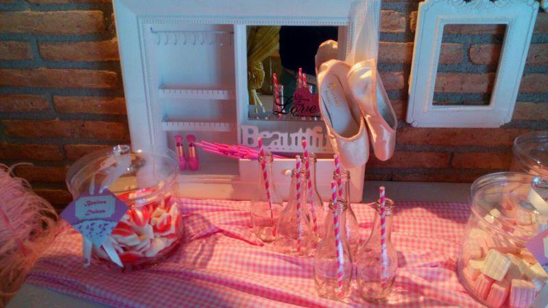 Decoración fiestas Infantiles en rosa