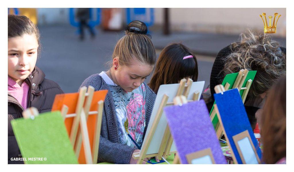 Taller Infantil Pintura Dibujo Artes Calafell
