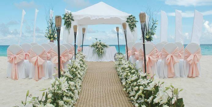 Bodas playa arreglos florales fiestas infantiles - Decoracion boda playa ...