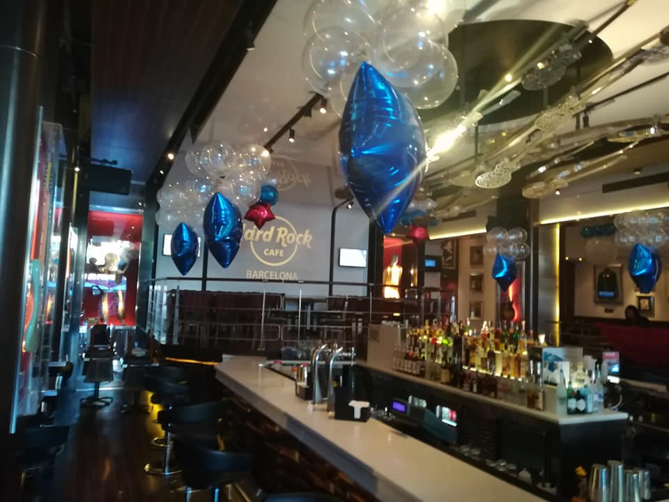 Nuestras decoraciones en Hard Rock Café