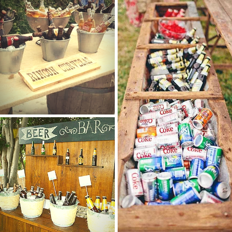 Ideas para decorar rincones con botellas o Beer Corner