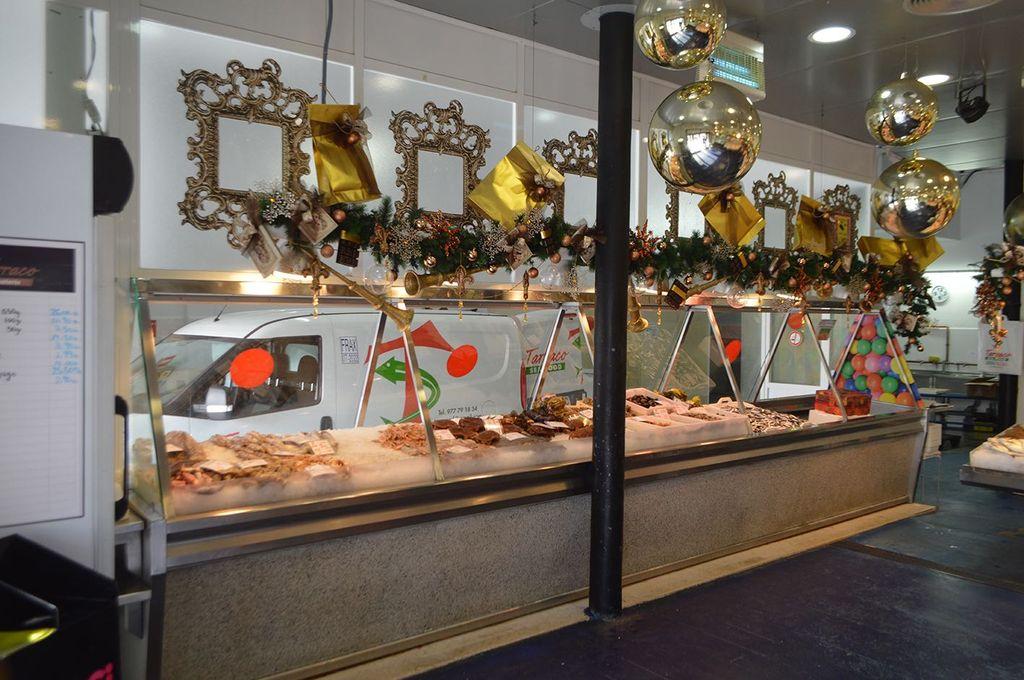 Decoración Navidad en Cambrils Tarraco Sea Food