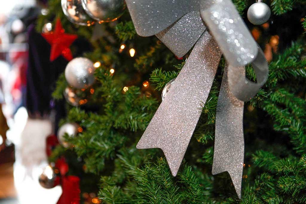 Decoración Navidad en Hard Rock Café Barcelona