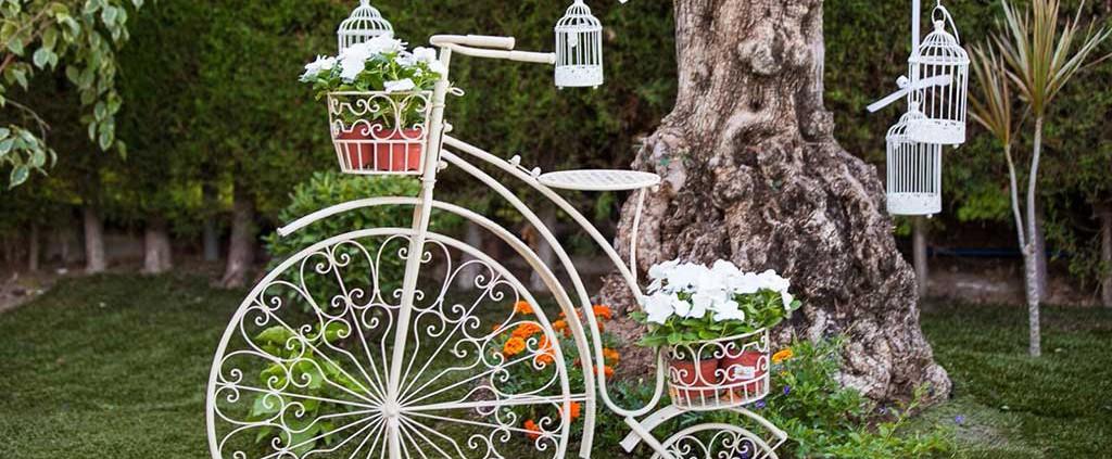 decoracion-bodas-bicicletas-vintage-flores