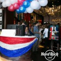 Decoración Hard Rock Café 4 Julio