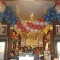 Decoración Hard Rock Café 4 Julio